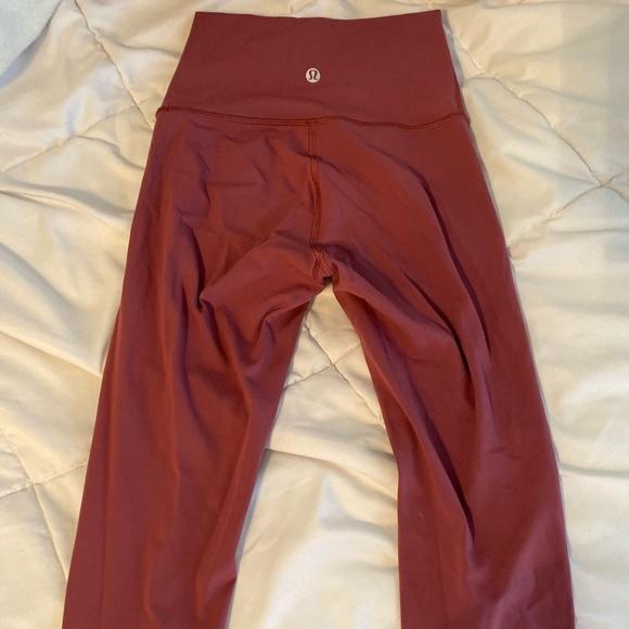 lululemon athletica Pants - LuluLemon Wonder Under 7/8 Pant Misty Merlot